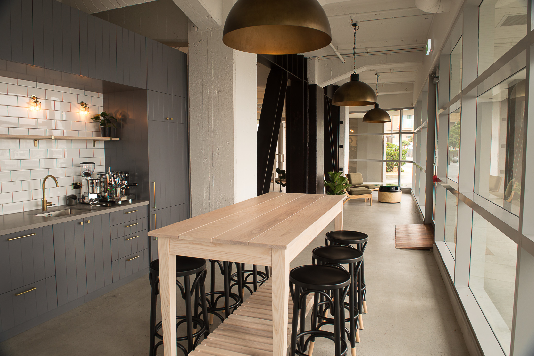 ZEAL wellington commerical interior fit out kitchen trends